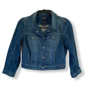 Guess Cropped Jean Jacket